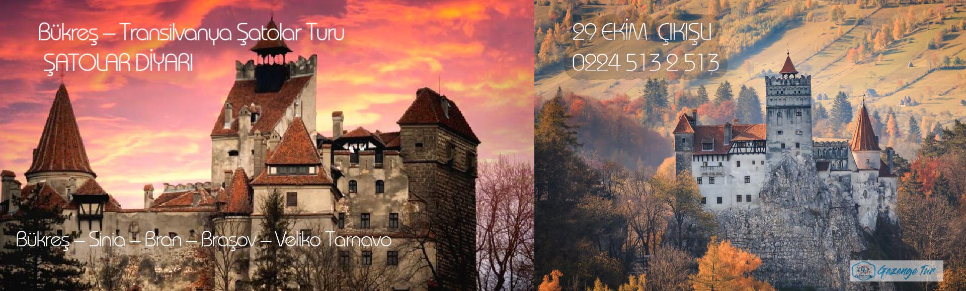 Bükreş – Transilvanya Şatolar Turu